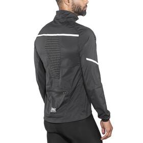 X-Bionic Spherewind Pro Running Jacket Men Black/White